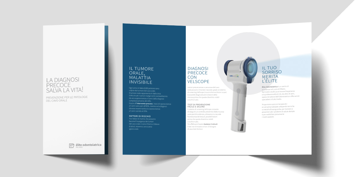 Élite odontoiatrica Milano brochure Velscope