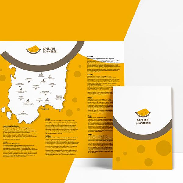 Cagliari Say Cheese brochure
